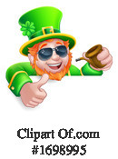 Leprechaun Clipart #1698995 by AtStockIllustration