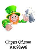 Leprechaun Clipart #1698996 by AtStockIllustration