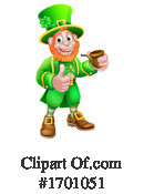 Leprechaun Clipart #1701051 by AtStockIllustration