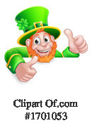 Leprechaun Clipart #1701053 by AtStockIllustration