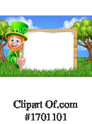 Leprechaun Clipart #1701101 by AtStockIllustration