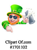 Leprechaun Clipart #1701102 by AtStockIllustration