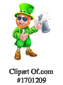 Leprechaun Clipart #1701209 by AtStockIllustration