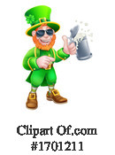 Leprechaun Clipart #1701211 by AtStockIllustration