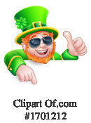 Leprechaun Clipart #1701212 by AtStockIllustration