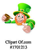 Leprechaun Clipart #1701213 by AtStockIllustration