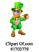 Leprechaun Clipart #1703779 by AtStockIllustration