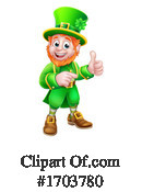 Leprechaun Clipart #1703780 by AtStockIllustration