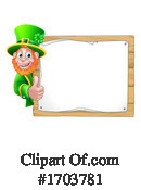 Leprechaun Clipart #1703781 by AtStockIllustration