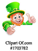 Leprechaun Clipart #1703782 by AtStockIllustration