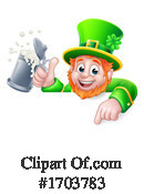 Leprechaun Clipart #1703783 by AtStockIllustration