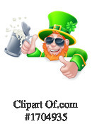 Leprechaun Clipart #1704935 by AtStockIllustration