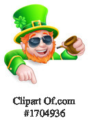 Leprechaun Clipart #1704936 by AtStockIllustration