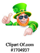 Leprechaun Clipart #1704937 by AtStockIllustration