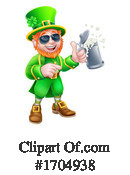 Leprechaun Clipart #1704938 by AtStockIllustration
