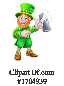 Leprechaun Clipart #1704939 by AtStockIllustration