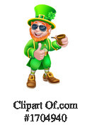 Leprechaun Clipart #1704940 by AtStockIllustration