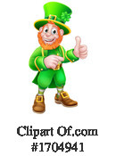 Leprechaun Clipart #1704941 by AtStockIllustration