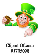 Leprechaun Clipart #1705098 by AtStockIllustration