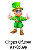 Leprechaun Clipart #1705099 by AtStockIllustration