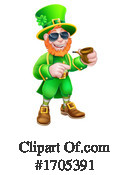 Leprechaun Clipart #1705391 by AtStockIllustration