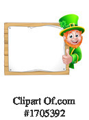 Leprechaun Clipart #1705392 by AtStockIllustration