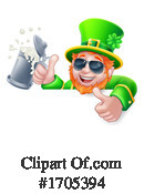 Leprechaun Clipart #1705394 by AtStockIllustration