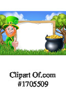 Leprechaun Clipart #1705509 by AtStockIllustration