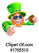 Leprechaun Clipart #1705510 by AtStockIllustration