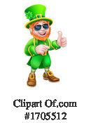Leprechaun Clipart #1705512 by AtStockIllustration