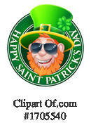 Leprechaun Clipart #1705540 by AtStockIllustration