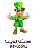 Leprechaun Clipart #1705541 by AtStockIllustration