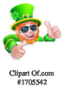 Leprechaun Clipart #1705542 by AtStockIllustration
