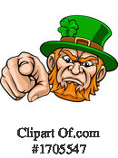 Leprechaun Clipart #1705547 by AtStockIllustration