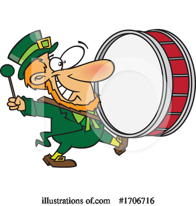 Leprechaun Clipart #1706716 by toonaday