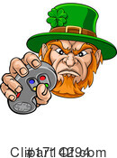 Leprechaun Clipart #1714294 by AtStockIllustration