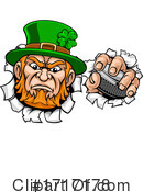 Leprechaun Clipart #1717178 by AtStockIllustration