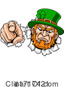 Leprechaun Clipart #1717421 by AtStockIllustration