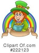 Royalty-Free (RF) Leprechaun Clipart Illustration #222123