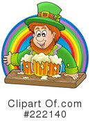 Leprechaun Clipart #222140 by visekart