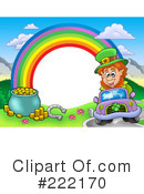 Royalty-Free (RF) Leprechaun Clipart Illustration #222170