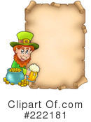Leprechaun Clipart #222181 by visekart