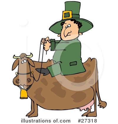 Leprechaun Clipart #27318 by djart