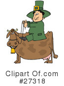 Royalty-Free (RF) Leprechaun Clipart Illustration #27318