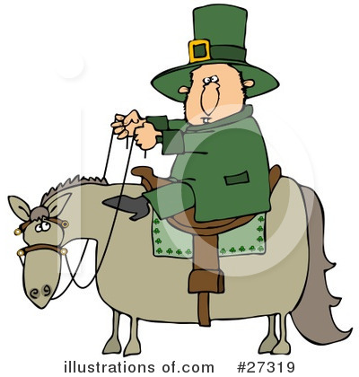 Leprechaun Clipart #27319 by djart