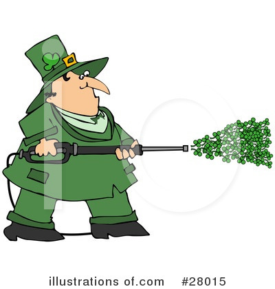 Royalty-Free (RF) Leprechaun Clipart Illustration by Dennis Cox - Stock Sample #28015