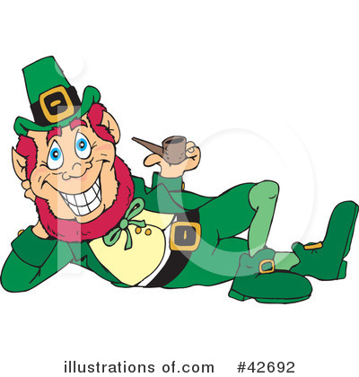Leprechaun Clipart #42692 by Dennis Holmes Designs