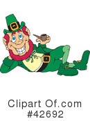 Royalty-Free (RF) Leprechaun Clipart Illustration #42692