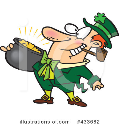 Leprechaun Clipart #433682 by toonaday