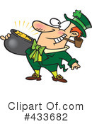 Royalty-Free (RF) Leprechaun Clipart Illustration #433682